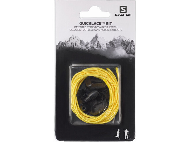 Salomon Quicklace Kit, yellow